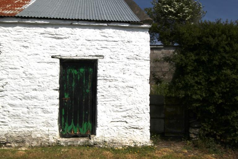 Green Door Contrasts