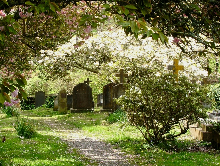 An Idyllic Country Churchyard