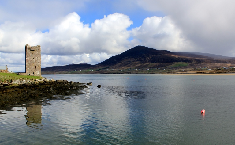 Achill Sound and Granuaile's Tower