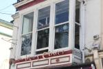 Restaurant Window & Faded Lettering