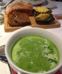 Pea, Mint & Spinach Soup