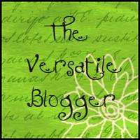 versatile blogger badge