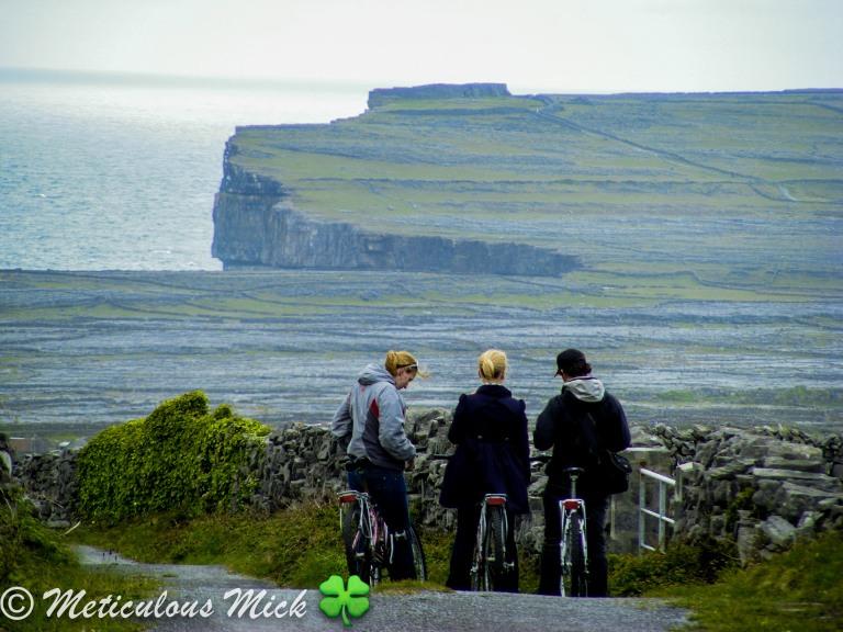 Cycling on Inis Mór