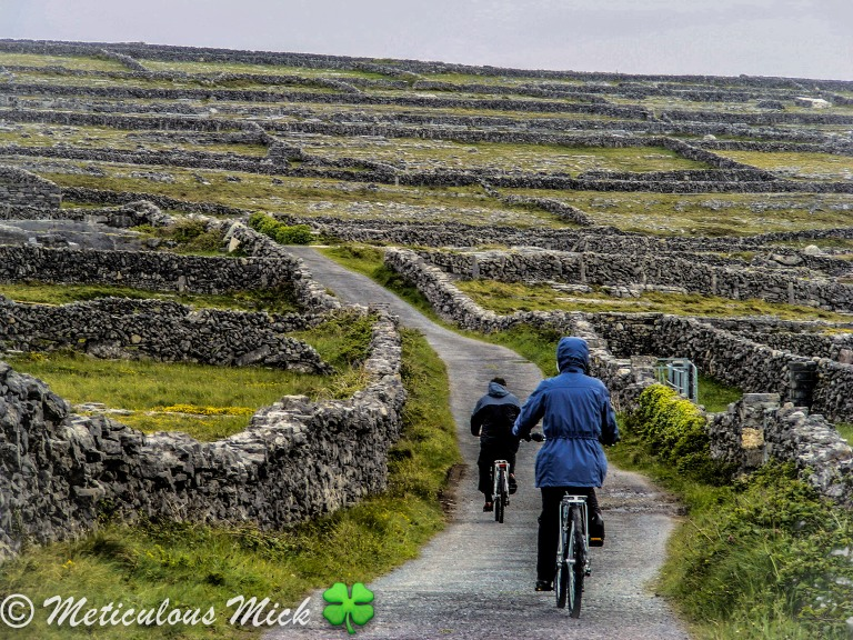 Scenic Cycling on the Aran Islands, Co. Galway