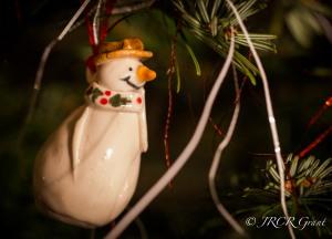 Beaming Snowman