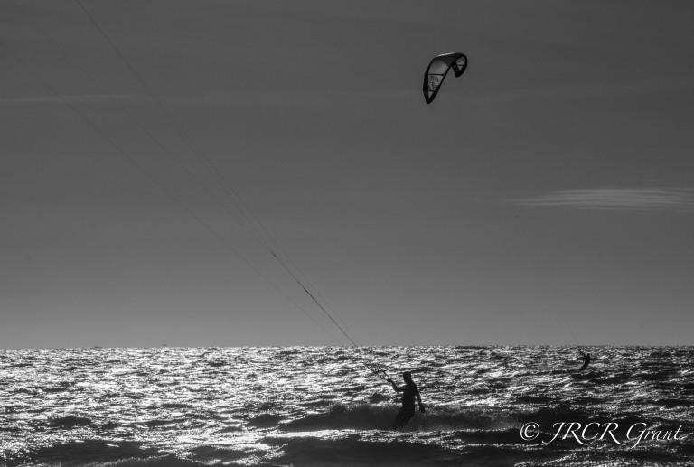 Kite Surfing at Garretstown, Co. Cork