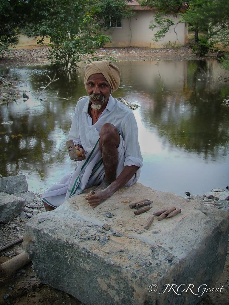 Stone Mason (Tamil Nadu, India)