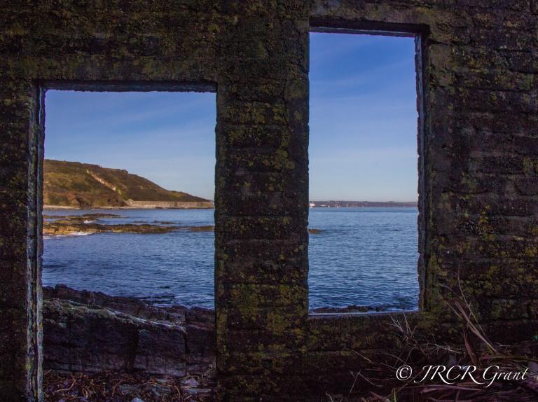 Window on Cork Harbour Entrance