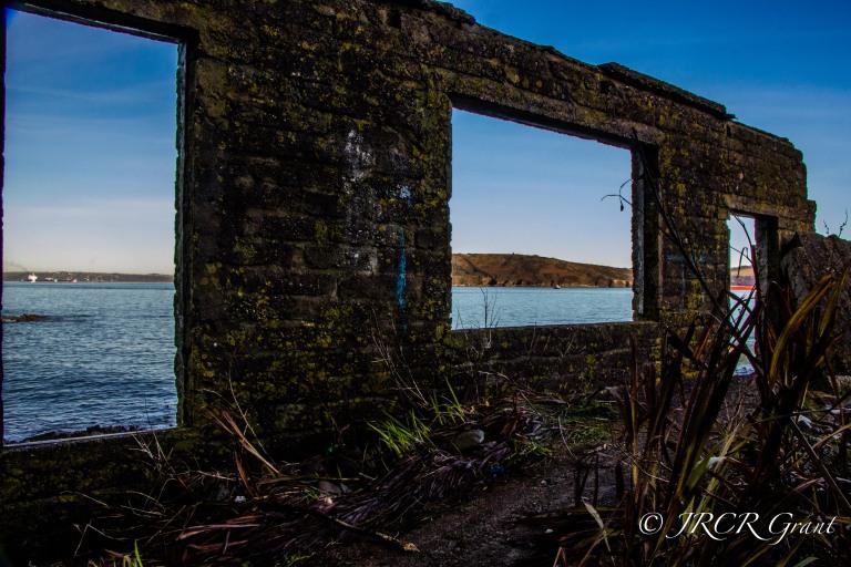 Windows (and Door) on Cork Harbour