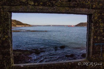 Sailing into Cork Harbour