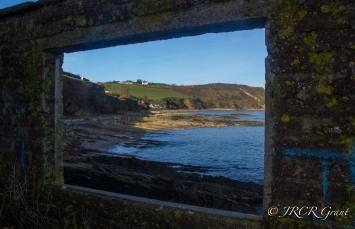Window on Fort Camden