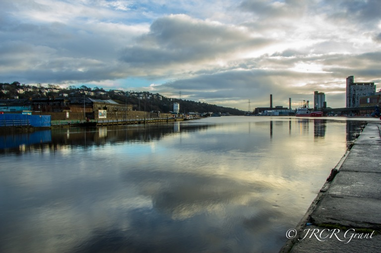 The River Lee in Quieter Mood