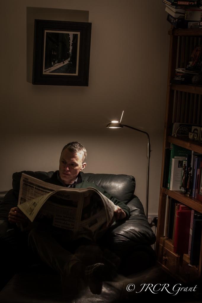 Evening Reader