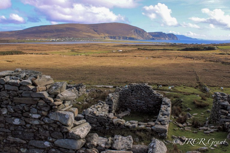 Deserted Village - Achill Island