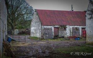 Old Farm in Colour