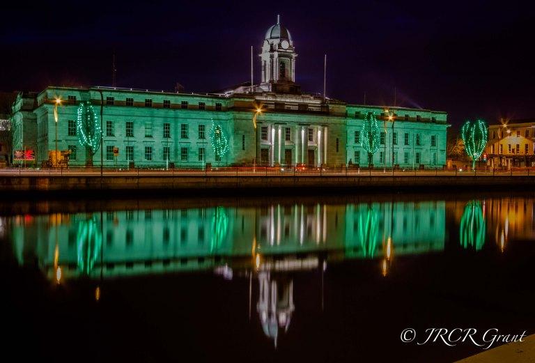 St Patrick's Night in Cork City