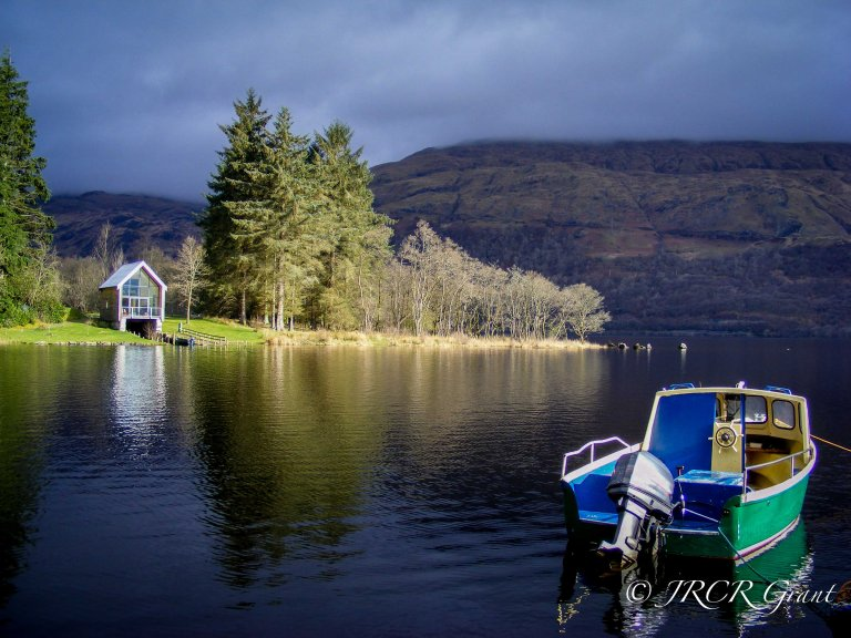 Loch Awe Reflections at Ardinaiseig