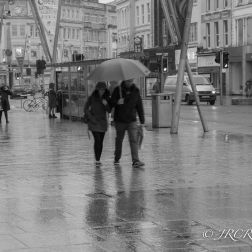 Shared Umbrella