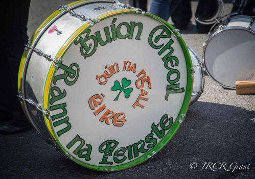 Gaelic drum
