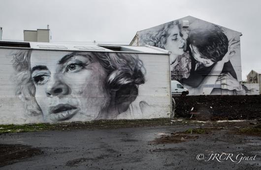 One Image Three Murals