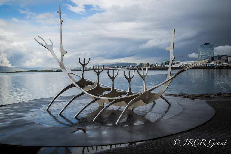 Image of Sun Voyager sculpture