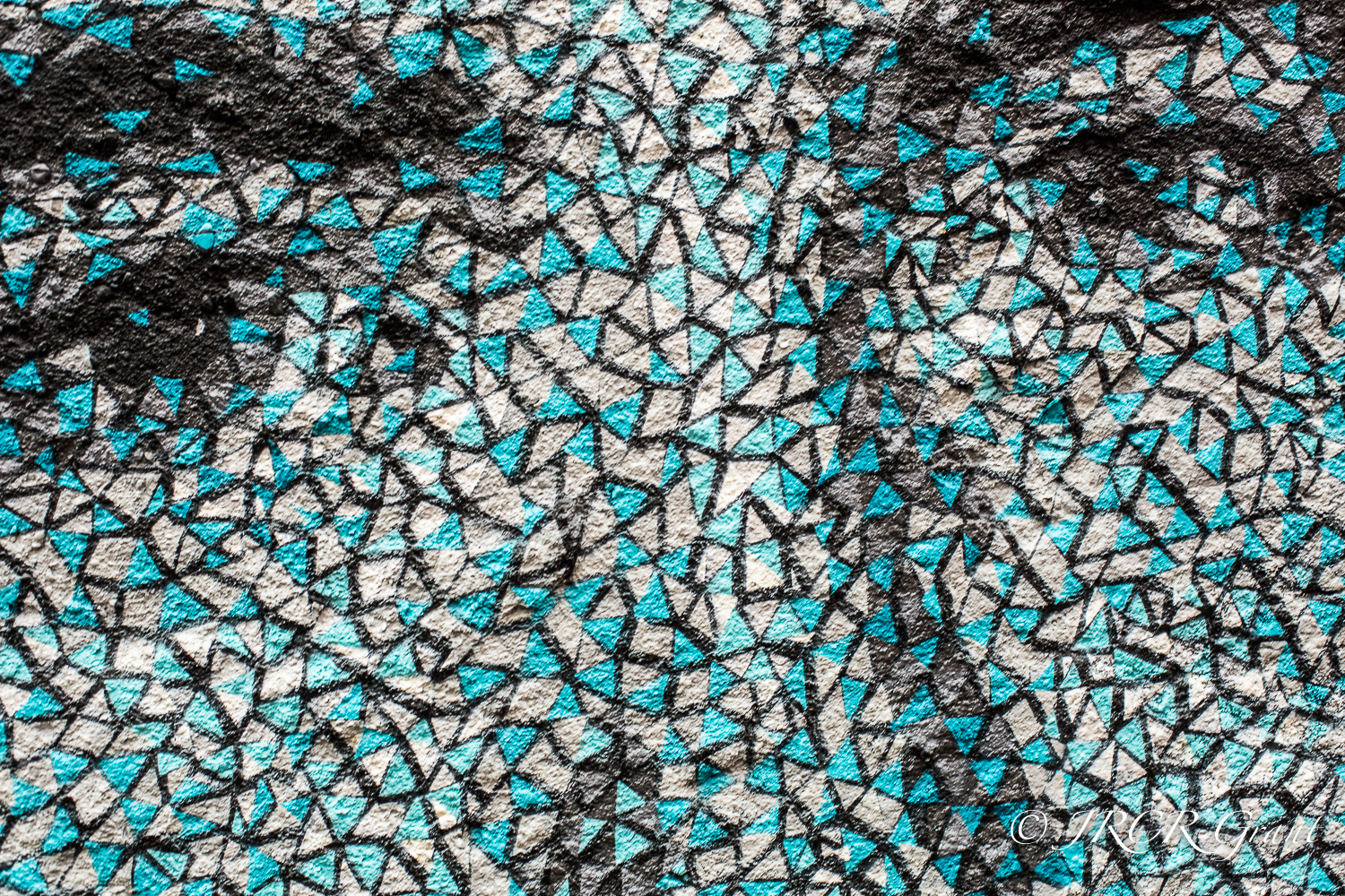 Close up of Graffiti Face