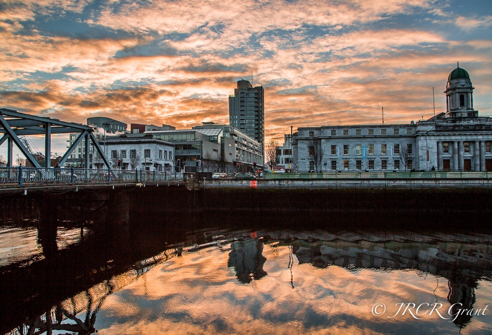 Morning Sky over Cork City