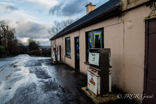 Petrol Pumps at the Crossroads in North County Cork