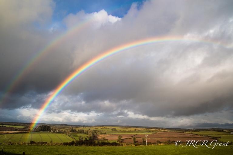 Rainbows over East Cork