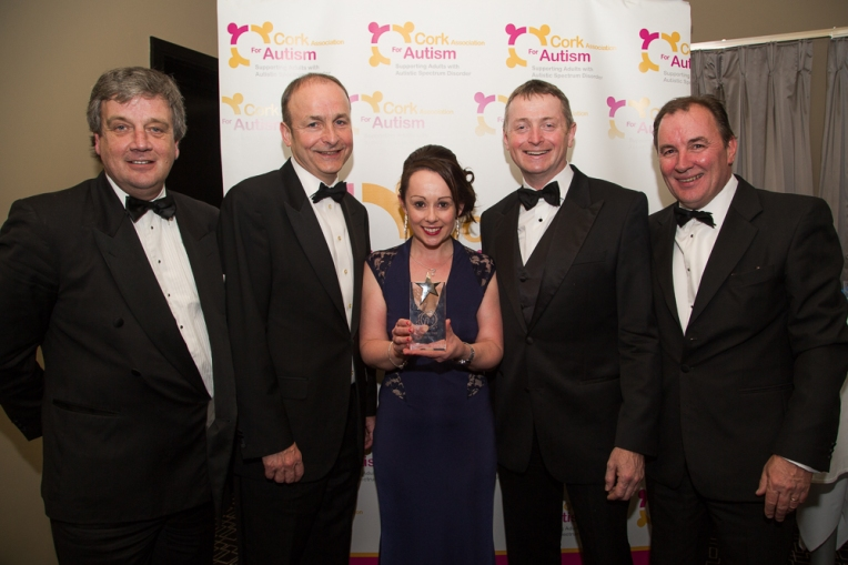 A Delighted senior CAA Team and guest