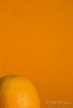 Orange against an orange background