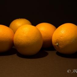 A line of Oranges