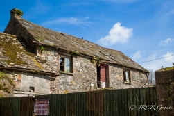 An old farm building is declared unsafe. County Cork, Ireland