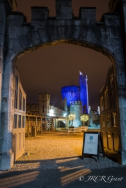 Blackrock Castle in Cork lights up blue for Autism day