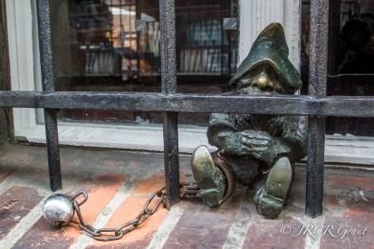 The Prisoner Gnome