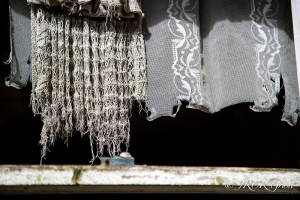 Net curtains lose their shape as time takes its toll