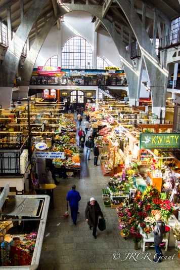 Shopping at Wroclaw Market