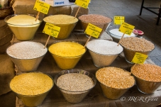 Pulses for sale at Wroclaw Market