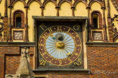 Clock of the Ratusz