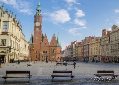 Ratusz (Town Hall) of Wroclaw, Poland