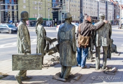 Life sized statues of Passage