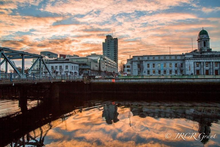 Cork City Dawn