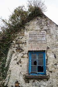 A plaque on the wall of Whiddy Island School proclaims it has stood since 1887