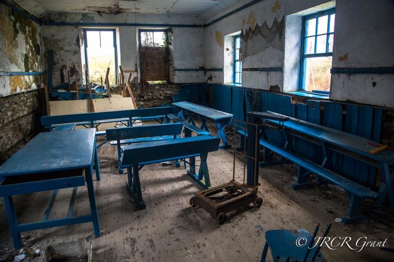 Old Classroom of Whiddy Island School