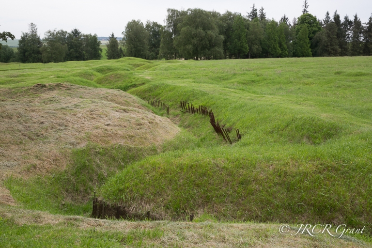 The Forward Trench at the site of the Somme, Beaumont Hamel