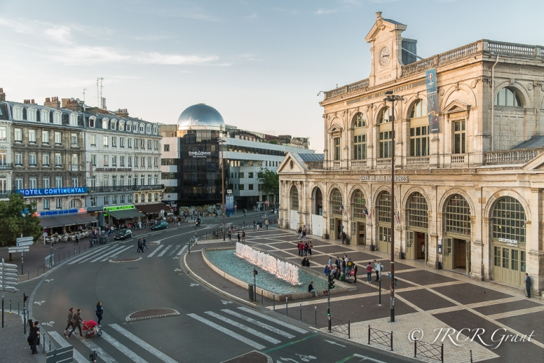 The station square - Lille