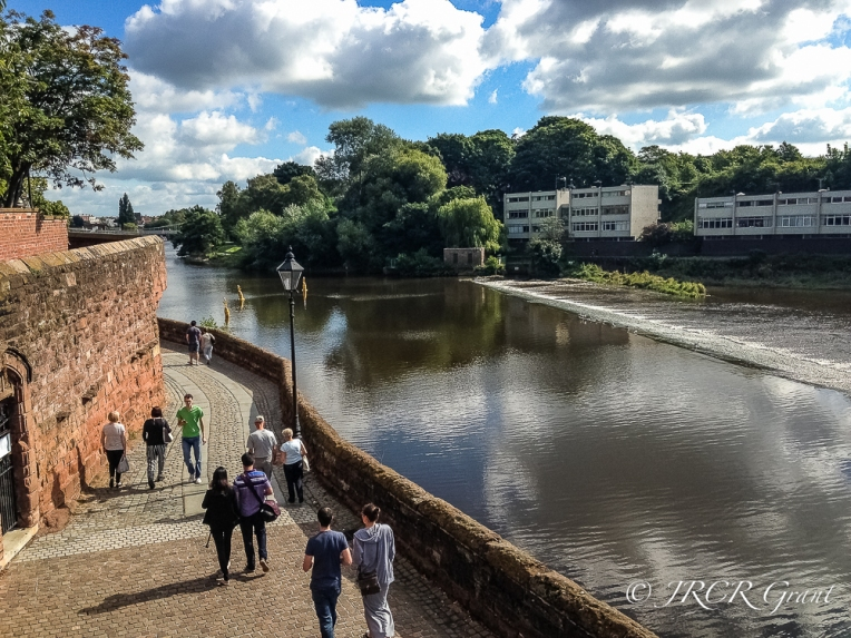 The River Dee running through Chester