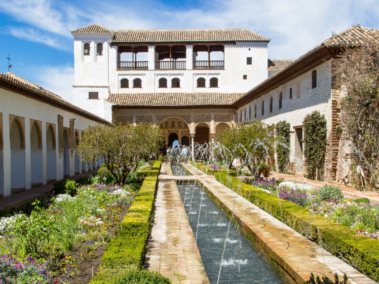 The Summer Palace, generalife