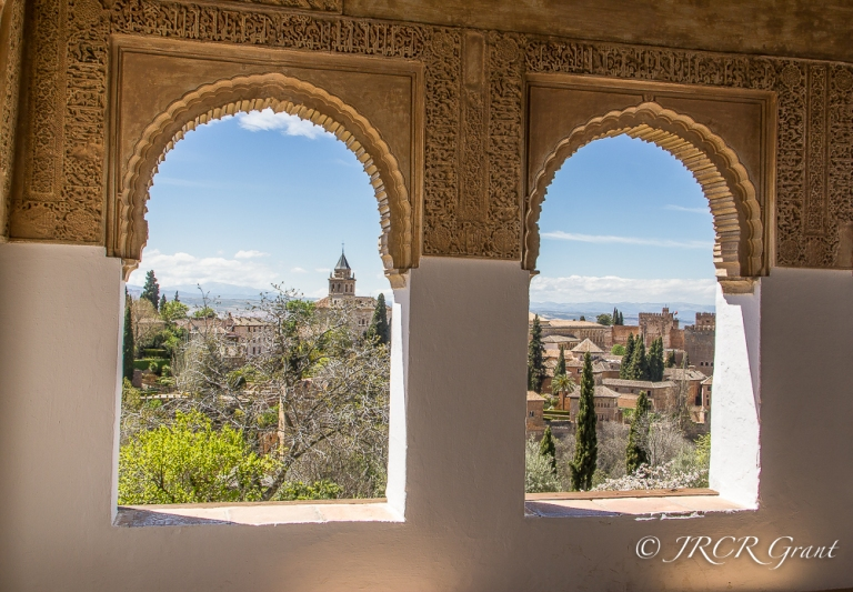 Alhambra View from Generalife