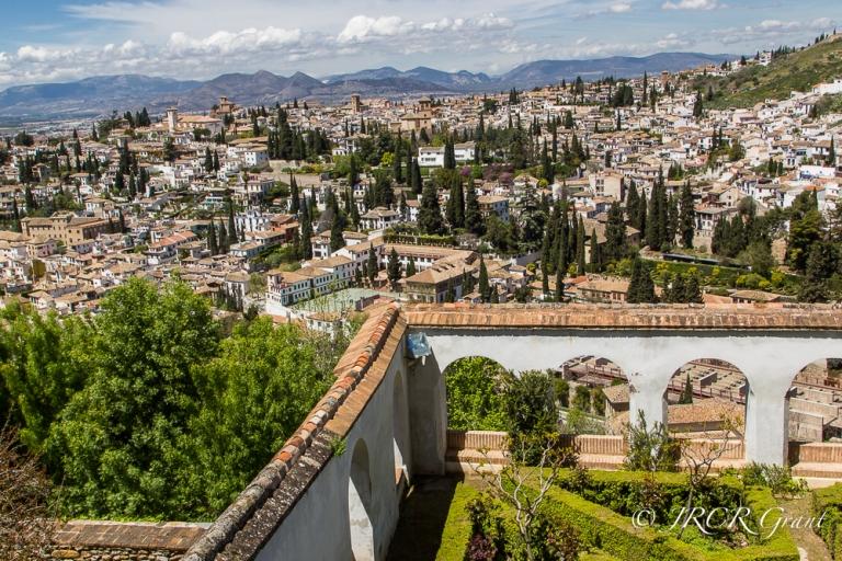 View from Generalife of Granada